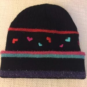Beanie hearts hat